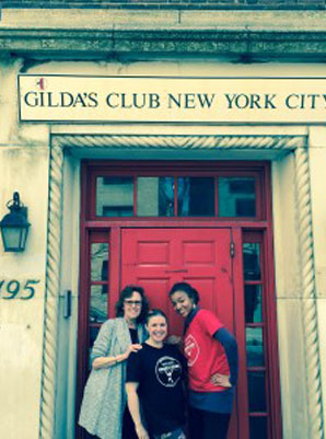 Energetic Juniors at Gilda's Club in NYC