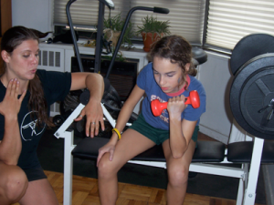 NYC kids building endurance with personal training