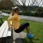 park bench workout 2