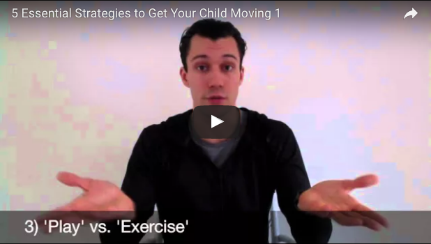 5 strategies to get your child moving