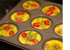 easy breakfast frittata muffins