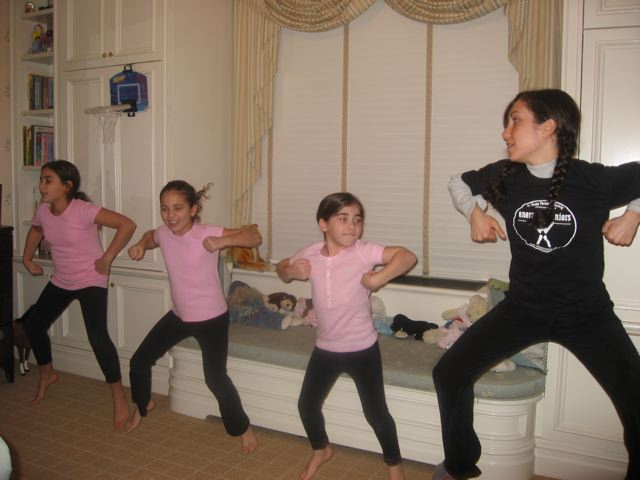 Group dance lessons for kids