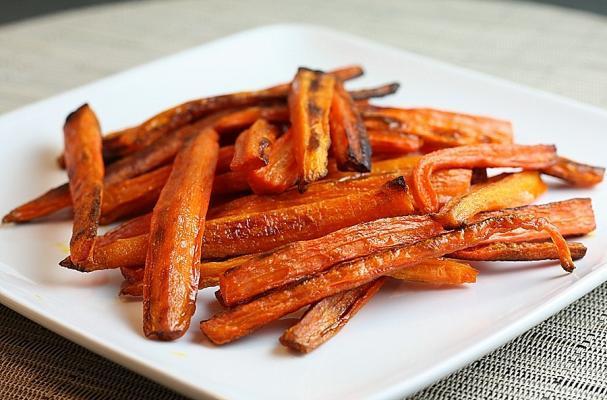 Thanksgiving Baked Carrot Fries