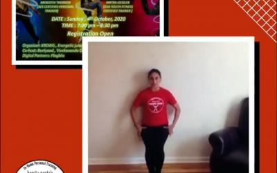 Fun fitness webinar in India